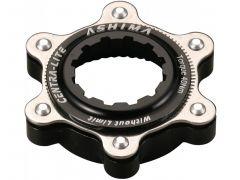 Adaptor ASHIMA Ac02-bk Center Lock-disc Standard Ultra Light Negru