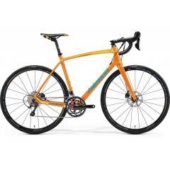 Bicicleta MERIDA RIDE Disc 5000 M/L(54), MANGO (Galben/ Albastru) 2017