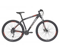 "Bicicleta CROSS Traction SL3 29"" negru/alb 510mm"