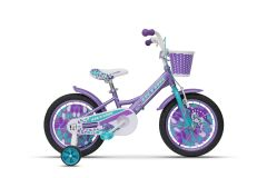 Bicicleta ULTRA Larisa 16'' roti alum. - mov