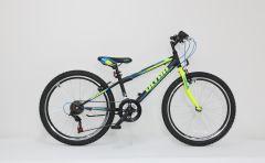 "Bicicleta ULTRA Storm 24"" negru"