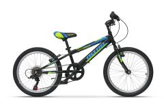 Bicicleta ULTRA Storm 20 6 viteze - negru