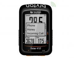 Ciclocomputer BRYTON Rider 410E GPS