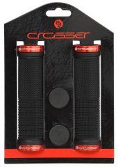 Mansoane CROSSER HL-G201 negru/rosu
