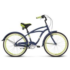 Bicicleta LE GRAND Bowman Junior 24' Albastru Mat/Lime