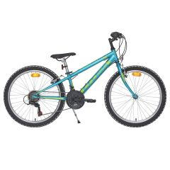 Bicicleta CROSS Speedster otel - 24'' junior - albastru