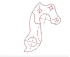 Ureche Cadru MERIDA (12) Scultura