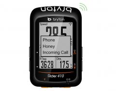 Ciclocomputer BRYTON Rider 410T GPS Set
