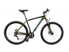"""Bicicleta ULTRA Nitro 27.5"""" gri/negru/verde 480mm"""