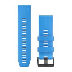 Curea Silicon GARMIN Quickfit 26 Albastru