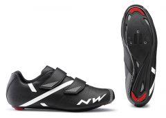 Pantofi ciclism NORTHWAVE Road Jet 2 (43) Negru (Alb)