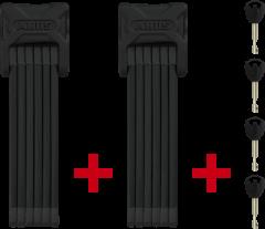 Antifurt Pliabial ABUS Bordo 6000/90 (Negru) Twinset