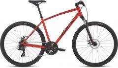 Bicicleta SPECIALIZED Crosstrail - Mechanical Disc - Satin Rocket Red/Limon/Black Reflective XL