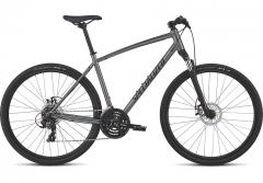Bicicleta SPECIALIZED Crosstrail - Mechanical Disc - Satin Charcoal/Black/Black Reflective S