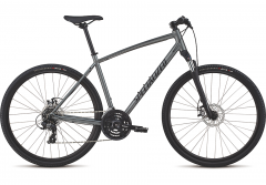 Bicicleta SPECIALIZED Crosstrail - Mechanical Disc - Satin Charcoal/Black/Black Reflective M