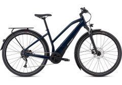 Bicicleta SPECIALIZED Turbo Vado 3.0 Step-Through - Gloss Cast Blue/Black/Liquid Silver S