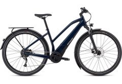 Bicicleta SPECIALIZED Turbo Vado 3.0 Step-Through - Gloss Cast Blue/Black/Liquid Silver L