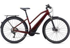 Bicicleta SPECIALIZED Turbo Vado 4.0 Step-Through - Metallic Crimson/Black/Rocket Red M