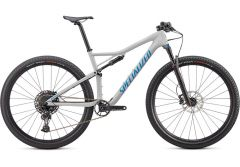 Bicicleta SPECIALIZED Epic Comp Carbon 29'' - Gloss Dove Grey Blue Ghost Pearl/Pro Blue L