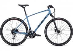 Bicicleta SPECIALIZED Crosstrail Sport - Gloss Storm Grey/Rocket Red/Black Reflective M