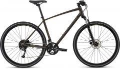 Bicicleta SPECIALIZED Crosstrail Sport - Rainbow Flake Black Tint/Nearly Black/Hyper Reflective L