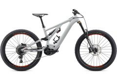 Bicicleta SPECIALIZED Kenevo Comp - Gloss Dove Grey/Rocket Red S4