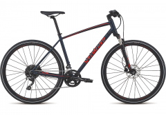 Bicicleta SPECIALIZED Crosstrail Elite - Satin Cast Blue/Rocket Red/Rocket Red Reflective XL