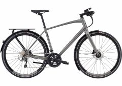 Bicicleta SPECIALIZED Men's Sirrus Elite EQ - Black Top LTD - Satin Sterling Grey/Black XL
