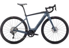 Bicicleta SPECIALIZED Turbo Creo SL Expert - Cast Battleship/Black/Raw Carbon L