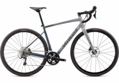 Bicicleta SPECIALIZED Diverge Elite E5 - Gloss/Satin Cool Grey-Cast Battleship Fade/Slate Clean 54