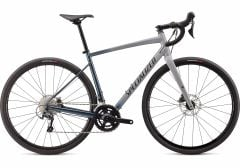 Bicicleta SPECIALIZED Diverge Elite E5 - Gloss/Satin Cool Grey-Cast Battleship Fade/Slate Clean 52
