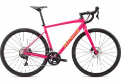 Bicicleta SPECIALIZED Diverge E5 Comp - Gloss Vivid Pink/Golden Yellow/Black Camo 52