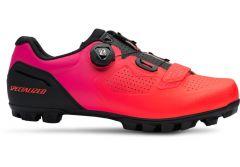 Pantofi ciclism SPECIALIZED Expert XC Mtb - Black/Acid Lava 39