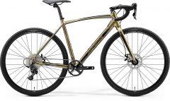 Bicicleta MERIDA Mission CX 100 SE L Gold|Negru 2020