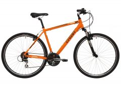 Bicicleta CREON Dover Cross 28 - Portocaliu 480mm