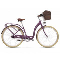 Bicicleta LE GRAND Lille 5 D 28 L Violet-Gri-Mat 2020