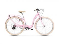 Bicicleta LE GRAND Lille 2 D 28 L Roz-Gri-Lucios 2020