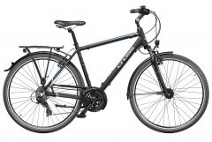 Bicicleta CROSS Areal Man Trekking 28'' Negru/Albastru 520mm