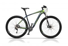 Bicicleta CROSS Big Foot 29 Albastru/Gri/Verde 500mm
