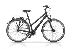 "Bicicleta CROSS Citerra Lady 28"" Negru/Gri 480mm"