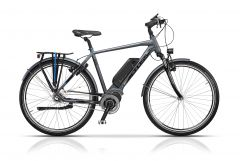 "Bicicleta CROSS Elegra City Man 28"" Gri/Negru 500mm"