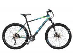 "Bicicleta CROSS Fusion Man 29"" Negru/Albastru/Verde 420mm"