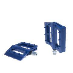 Pedale HT Plastic cu Rulmenti Albastru Inchis