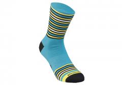 Sosete SPECIALIZED Full Stripe - Nice Blue/Black/Yellow XL