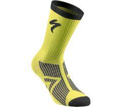 Sosete SPECIALIZED SL Elite Winter - Neon Yellow/Black L