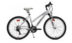 Bicicleta CROSS Julia 26 Alb/Mov 480mm