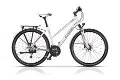 "Bicicleta CROSS Legend Lady Trekking 28"" Alb/Gri 440mm"