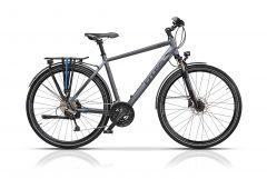 "Bicicleta CROSS Legend Man Trekking 28"" Gri/Negru 520mm"