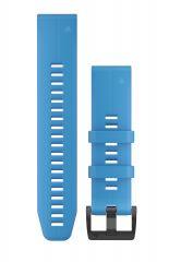 Curea Silicon GARMIN Quickfit 22 Albastru