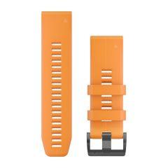 Curea Silicon GARMIN Quickfit 26 Portocaliu